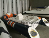 Liya 3,3 m China Rhib barco inflável de casco de fibra de vidro
