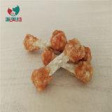 Pollo secas sacudidas de la pesa con arroz, alimento para perros Snacks Pet