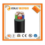 0.6/1kv Low Voltage 4+1core Cu Conductor XLPE Insulated Steel Types Armored PVC/PE Sheathed Power Cable Yjv22-0.6/1kv-4X4+1X2.5
