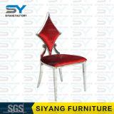 Möbel-Hochzeits-Stuhl-speisendes Stuhl-königliches speisendes Stuhl-Luxuxrot