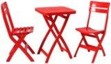 플라스틱 테이블 및 의자 (JTJ1021)를 접히는 옥외 야영하거나 픽크닉