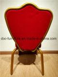 도매 빨간 호텔 연회 의자 타원형 뒤 연회 의자