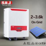 SAJ 3KW Monophasé Convertisseurs solaires grid-tie avec DC l'interrupteur et MPPT pour système de stockage d'énergie résidentielle