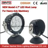 luz campo a través del trabajo del CREE LED de 12/24V 4.7inch para la maquinaria de granja