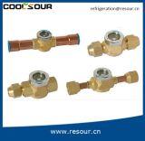 Coolsour Hochtemperaturöl-Anblick-Glas-waagerecht ausgerichtetes Anzeigeinstrument