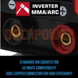 De Machine van het Lassen van de Lasser MMA van de anti-Stok van het heet-Begin IGBT 160AMP met Ce