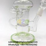 Unbesonnener Glasrecycler/Waterpipe/Rohr mit Bienenwabe Perc für Öl 420smoke/710/Burnt