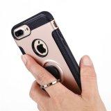 Крышка случая телефона Kistand гибридная передвижная на iPhone 7