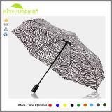 Parapluie fois d'illustration de zèbre du prix usine 3 en gros