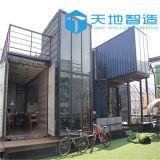 Доработанные модульные дома контейнера для перевозок для сбывания