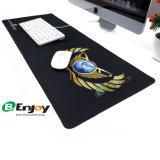 Pano macio de alta densidade de deslizamento não superior de espuma de borracha preta Backup Jogos Jogos Mouse pad personalizado