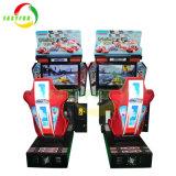 Le parc d'attractions intérieur simulateur Machine de jeu de voiture de course arcade