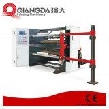 Hochgeschwindigkeitsaufschlitzenund Rückspulenmaschine für Peper Shaftless Abwickelnoption (FHQR)