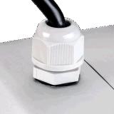 IP66 UL Dlc CE RoHS Certifié Projecteur LED à Forte Puissance avec 5 Ans de Garantie 0-10v Dimmable