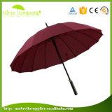 印刷されたゴルフ傘はまっすぐに女性傘を扱う