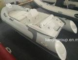 Bateau gonflable de côte de coque de fibre de verre d'embarcation de plaisance de la côte 330 de Liya