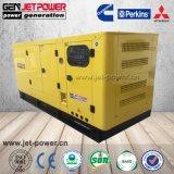 generatori diesel silenziosi di 45kVA 35kw Perkins 1103A-33tg1 con il prezzo delle rotelle