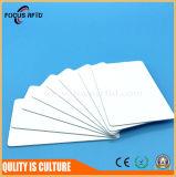 Scheda di plastica del PVC RFID MIFARE 1K /Tk4100/Ntag215 di bianco