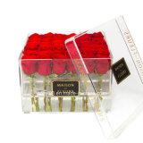 아크릴 호화스러운 꽃 상자 전문가 제조자
