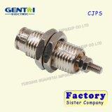 Buen cilindro neumático de efecto simple neumático del pasador del pistón de Quanlity Cjp