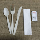 Jogo biodegradável Compostable da cutelaria do Flatware descartável Eco-Friendly