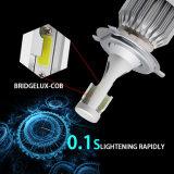 Linterna ligera de la MAZORCA 360 al por mayor LED de la fábrica 6500K 7200lm C6