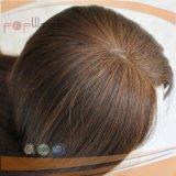 Parrucca brasiliana del lavoro della parte superiore della pelle della chiusura del merletto dei capelli (PPG-l-01429)
