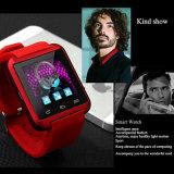 La montre mobile de la meilleure qualité téléphone la montre intelligente androïde U8 de Bluetooth