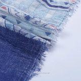 Grande Madame carrée Scarf de plage en voile 100% de polyester (Hz212)