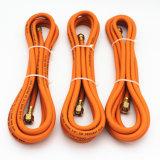 Tubo flessibile a mano sinistra femminile d'ottone della gomma del gas dei montaggi GPL dei filetti