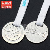 Médaille blanc faite sur commande chaude de prix usine de qualité de vente gravant en gros de Chine