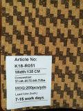 Cuoio eccellente del tessuto del sughero naturale di disegno del reticolo per la decorazione dei sacchetti dei pattini (K18-05)