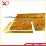Het hout/Plastic/LED Dance Floor voor Hotel/Staaf/Huwelijk/toont/Banket/Restaurant