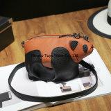 Madame en cuir Handbag (FTE-011) de créateur de sac de main de configuration de litchi d'unité centrale de femmes