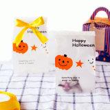 Хэллоуин матового полупрозрачного газа печенье-подарок пакет файлов cookie десерт задней панели кузова плоской рот мешок