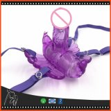 Télécommande sans fil Style papillon vibrant sangle sur culotte jouets sexuels pour les femmes