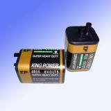 Droge zink-Mangaan Batterij (4R25)