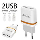 3.1A doble de rápida Adaptador de teléfono USB Cargador con cable USB