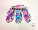 Il pistone del PVC di modo calza i pattini del sandalo per le donne e la ragazza (YG520-1)