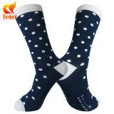 Bunte PUNKT Kleid-Socke mit kundenspezifischen Firmenzeichen-Socken