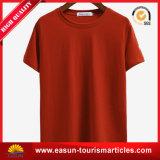 安い石のTシャツのキャンバスのTシャツの白い綿のTシャツ
