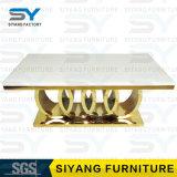 Hauptmöbel-gesetzter Stuhl und Tisch-Marmorspeisetisch