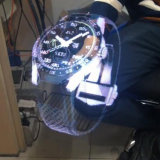 3D, das den Schauplakat-Ventilator farbenreich bekanntmacht