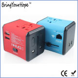 Adaptateur de voyage de routeur WiFi avec 2 ports USB (XH-UC-009)