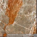 フォーシャンは艶をかけた大理石の磨かれた磁器の浴室の壁および床タイル(VRP6D071)を