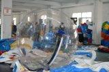 шарик воды PVC 1.0mm прозрачный раздувной гуляя для сбывания