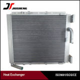 Placa de alumínio do tipo barra do Resfriador de Óleo Hidráulico para a Hyundai