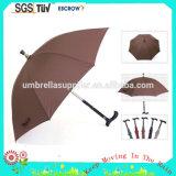 Gehender Stock-fördernde Regenschirme des heißer Verkaufs-preiswerteste Stock-23inch