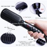 Escova de alisamento de cabelo coloridos, Escova de cabelo alisador, alisamento de cabelo de ferro
