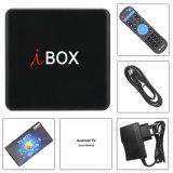 I Box caixa de TV com Amlogic Android S912W 2GB de RAM/16GB ROM, WiFi com suporte HD 1080p, 4K, CAIXA DE TV inteligente